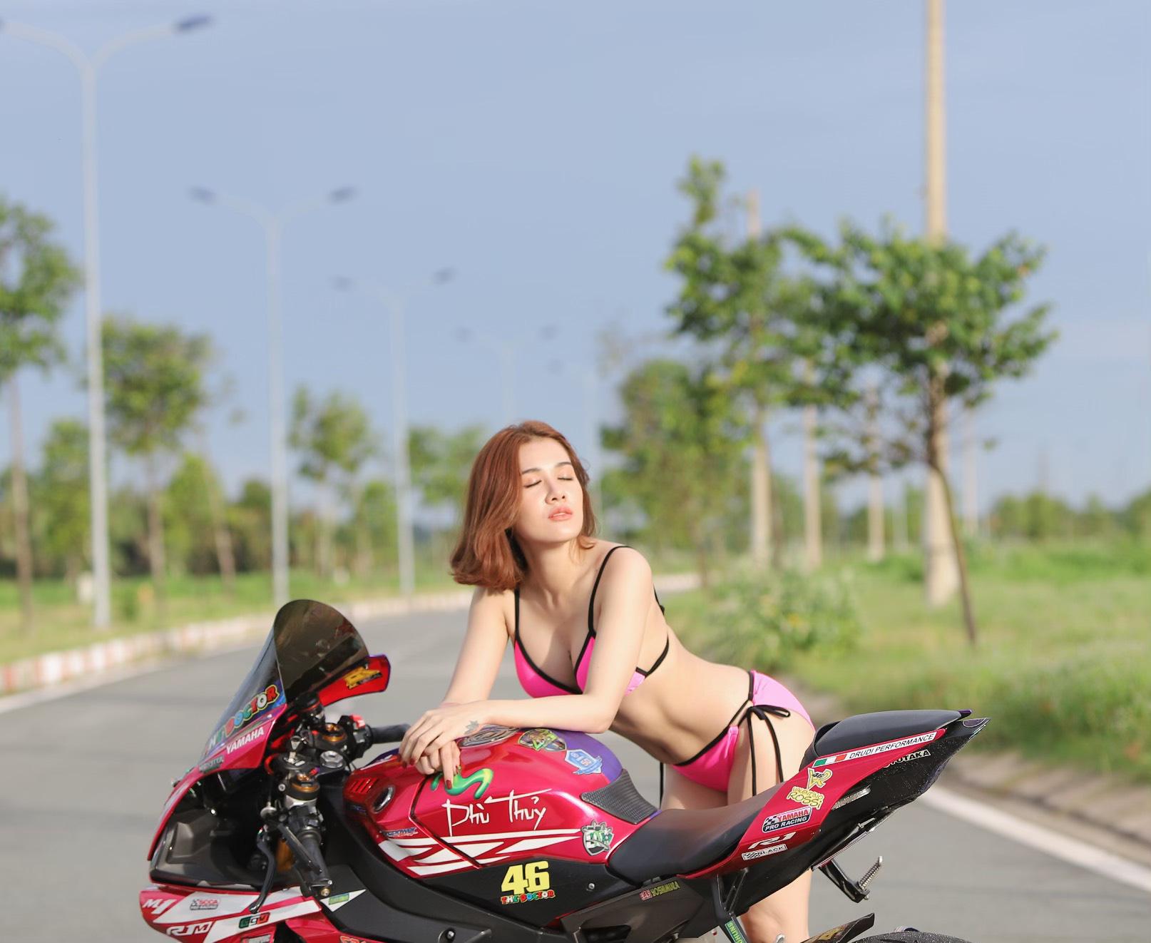 """Hot girl mô tô phân khối lớn Tina Phạm: """"Cưỡi ngựa sắt là quên hết sự đời"""" - Ảnh 13."""