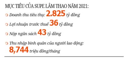 (gop) Supe Lâm Thao phấn đấu lợi nhuận trước thuế 36 tỷ đồng - Ảnh 2.