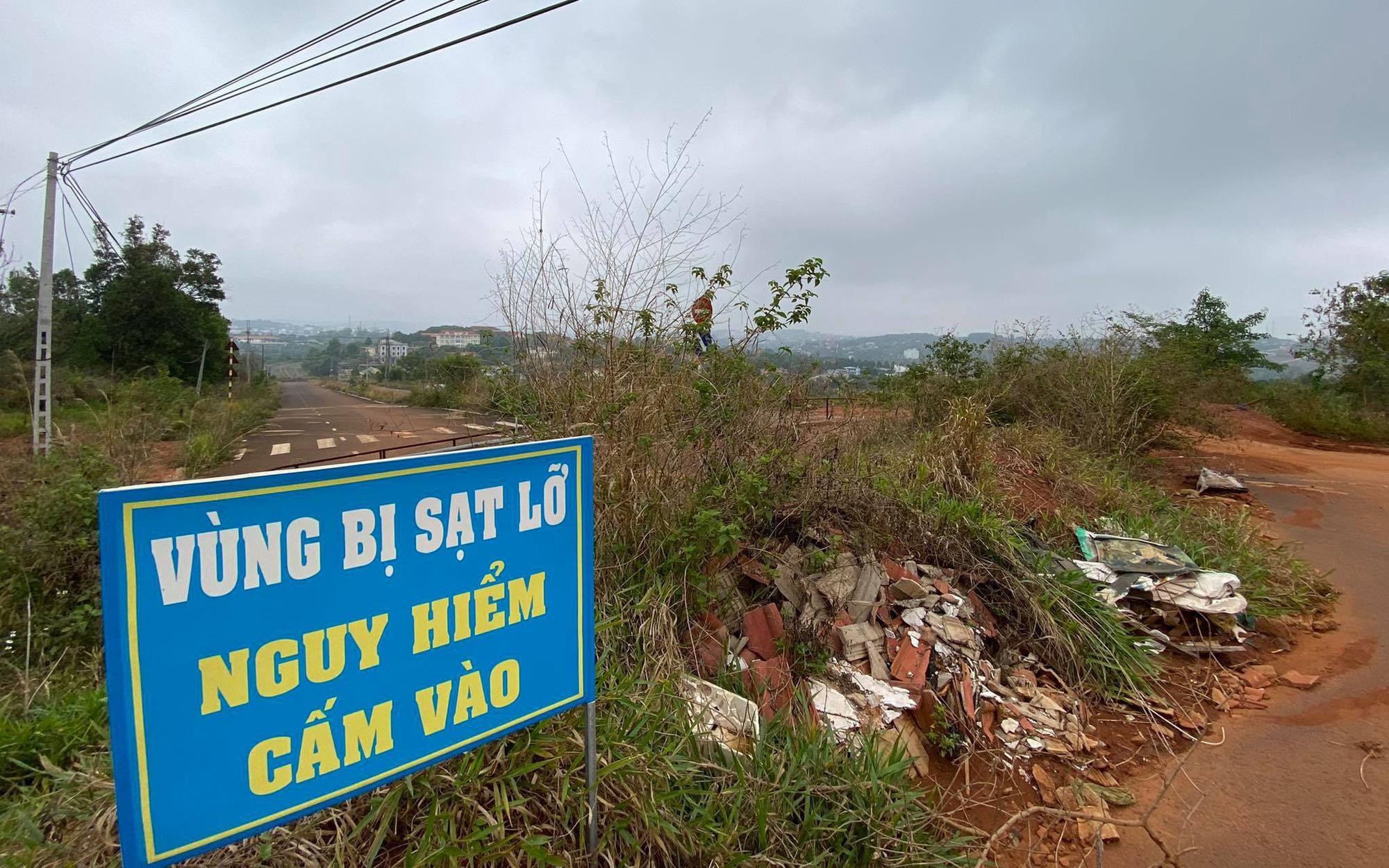 Gần 230 tỷ đồng xây dựng khu dân cư dọc tuyến đường sụt lún ở Đắk Nông?
