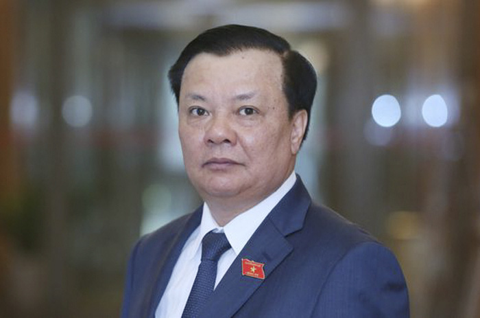 Tân Bí thư Thành ủy Hà Nội Đinh Tiến Dũng.