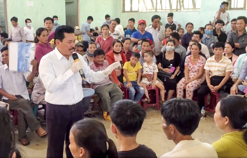 Huyện Bình Sơn (Quảng Ngãi): Thu hồi các khoản chi sai khi mời ông Võ Hoàng Yên chữa bệnh - Ảnh 1.