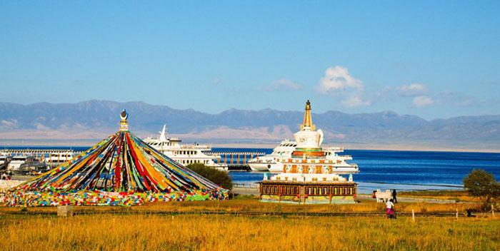"""Du lịch Trung Quốc: Chiêm ngưỡng cảnh sắc """"thiên nhiên bừng tỉnh"""" chào Xuân kỳ ảo bên """"Thánh hồ"""" Thanh Hải - Ảnh 8."""