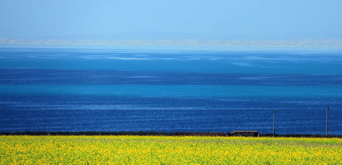 """Du lịch Trung Quốc: Chiêm ngưỡng cảnh sắc """"thiên nhiên bừng tỉnh"""" chào Xuân kỳ ảo bên """"Thánh hồ"""" Thanh Hải - Ảnh 9."""