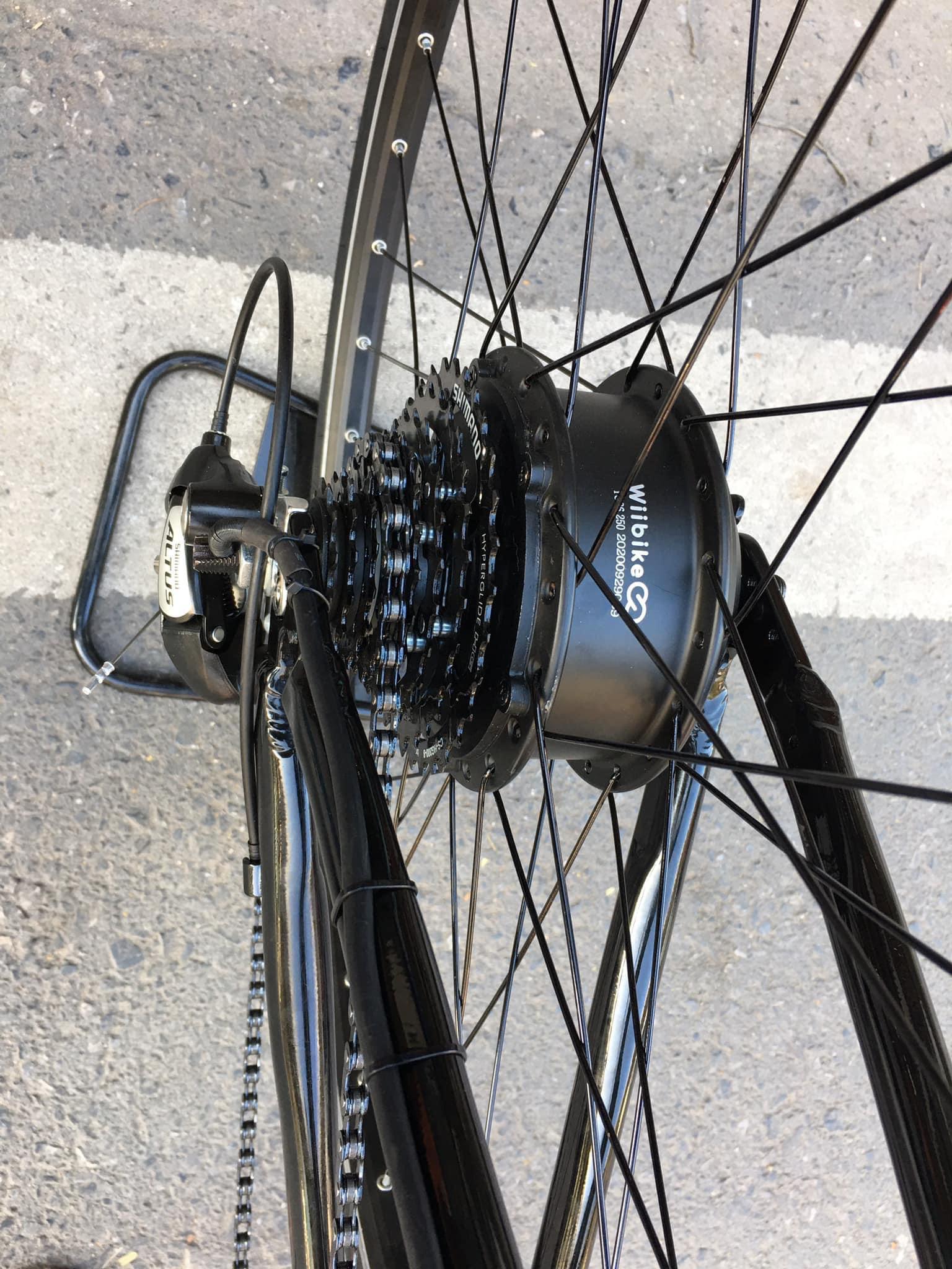 """Dân """"độ"""" xe tiết lộ 4 bước biến xe đạp cũ thành xe đạp trợ lực điện, chạy vù vù quanh Hồ Tây - Ảnh 6."""