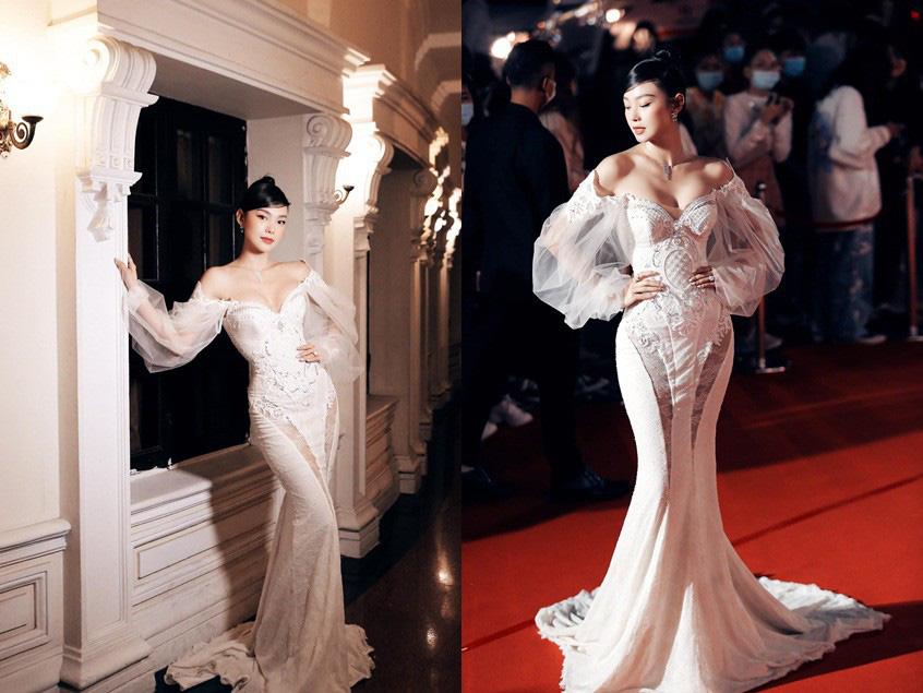 Gu thời trang táo bạo, cực kỳ ấn tượng của nữ ca sĩ Minh Hằng - Ảnh 2.
