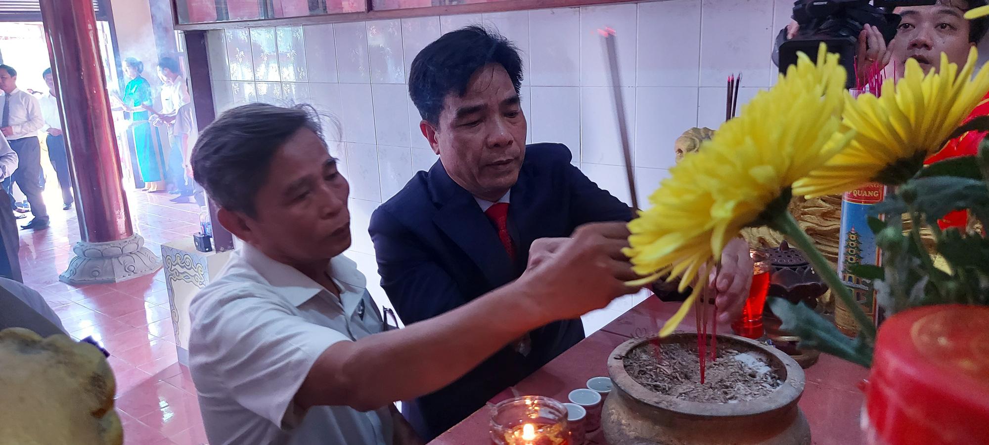 Trung ương Hội Nông dân Việt Nam về nguồn tưởng nhớ các anh hùng nông dân - Ảnh 4.