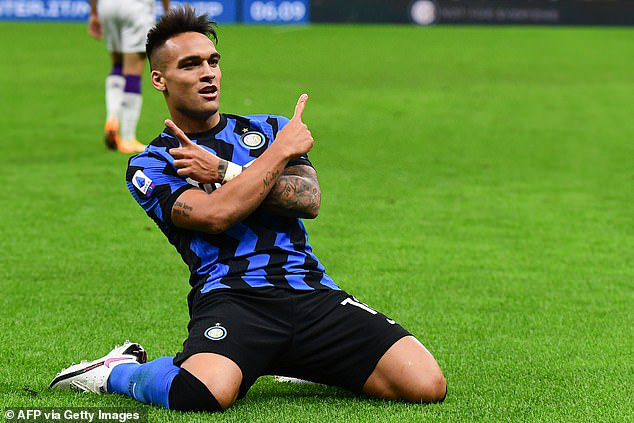 Martinez đang thăng hoa ở Inter.