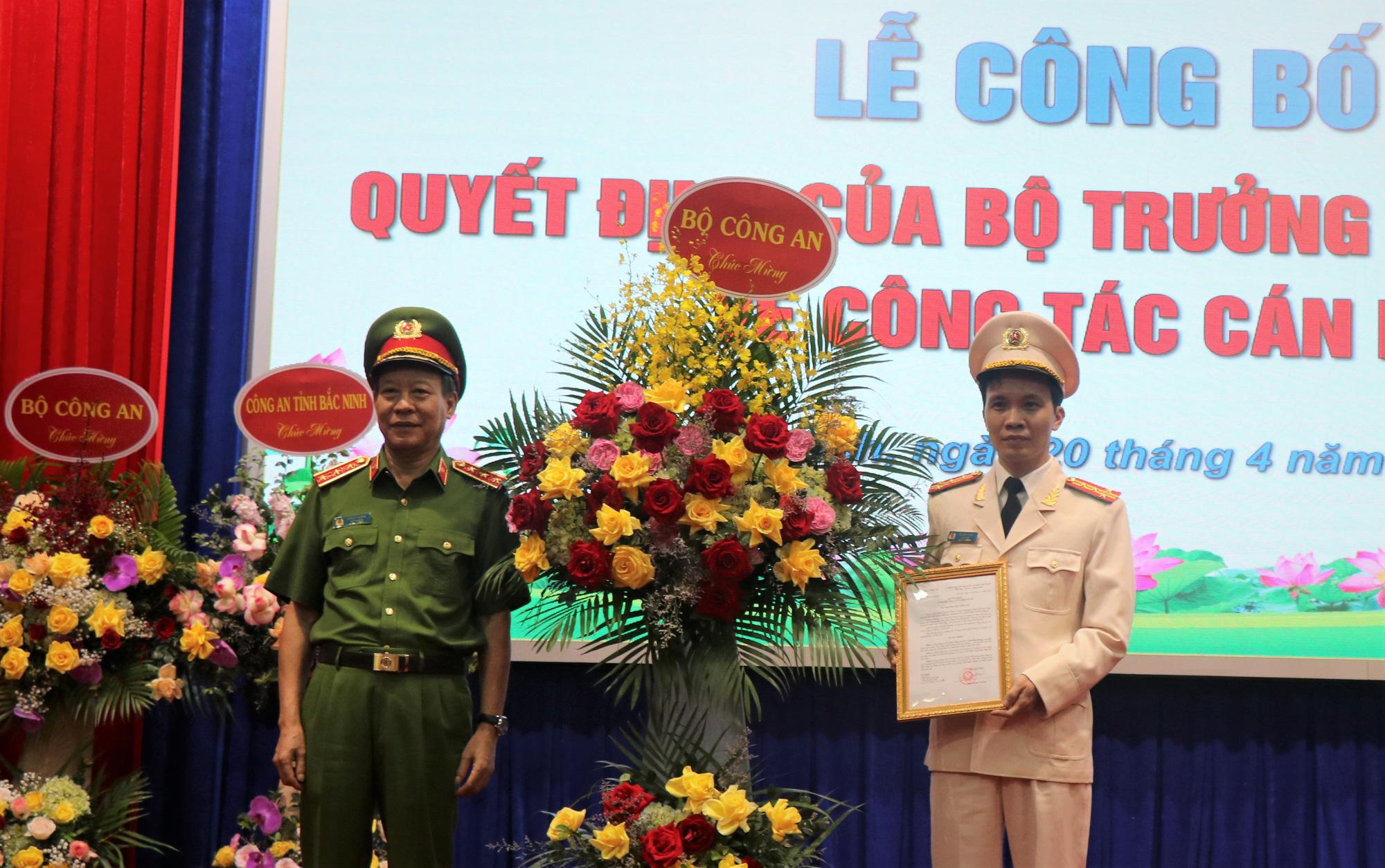Đại tá Bùi Duy Hưng giữ chức Giám đốc Công an tỉnh Bắc Ninh - Ảnh 1.