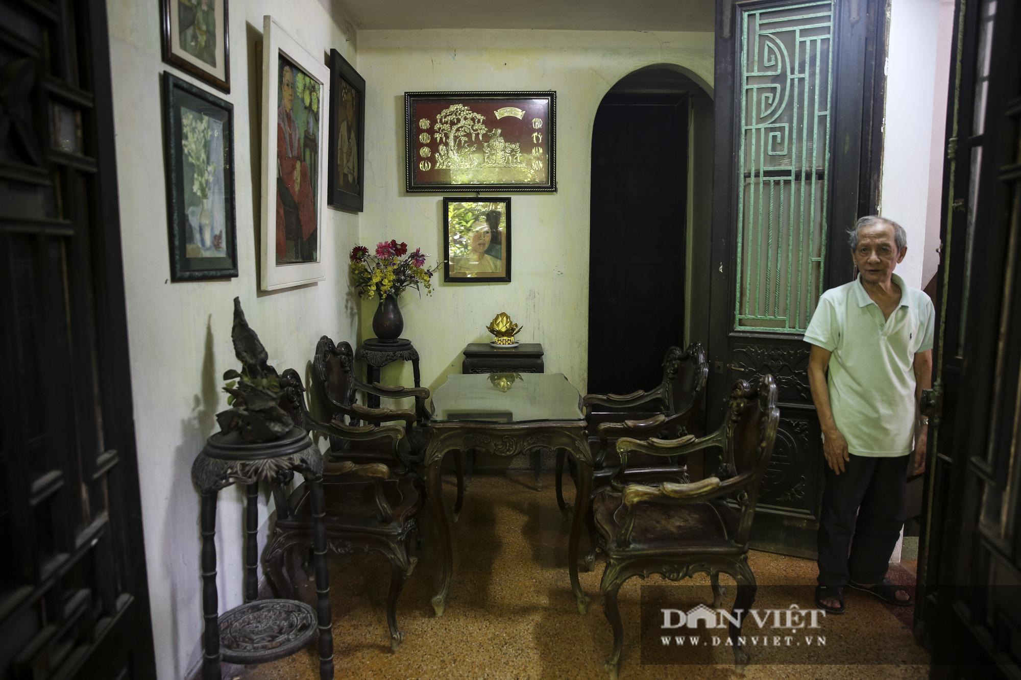 Khám phá ngôi nhà vườn xuyên phố duy nhất ở phố cổ Hà Nội - Ảnh 8.