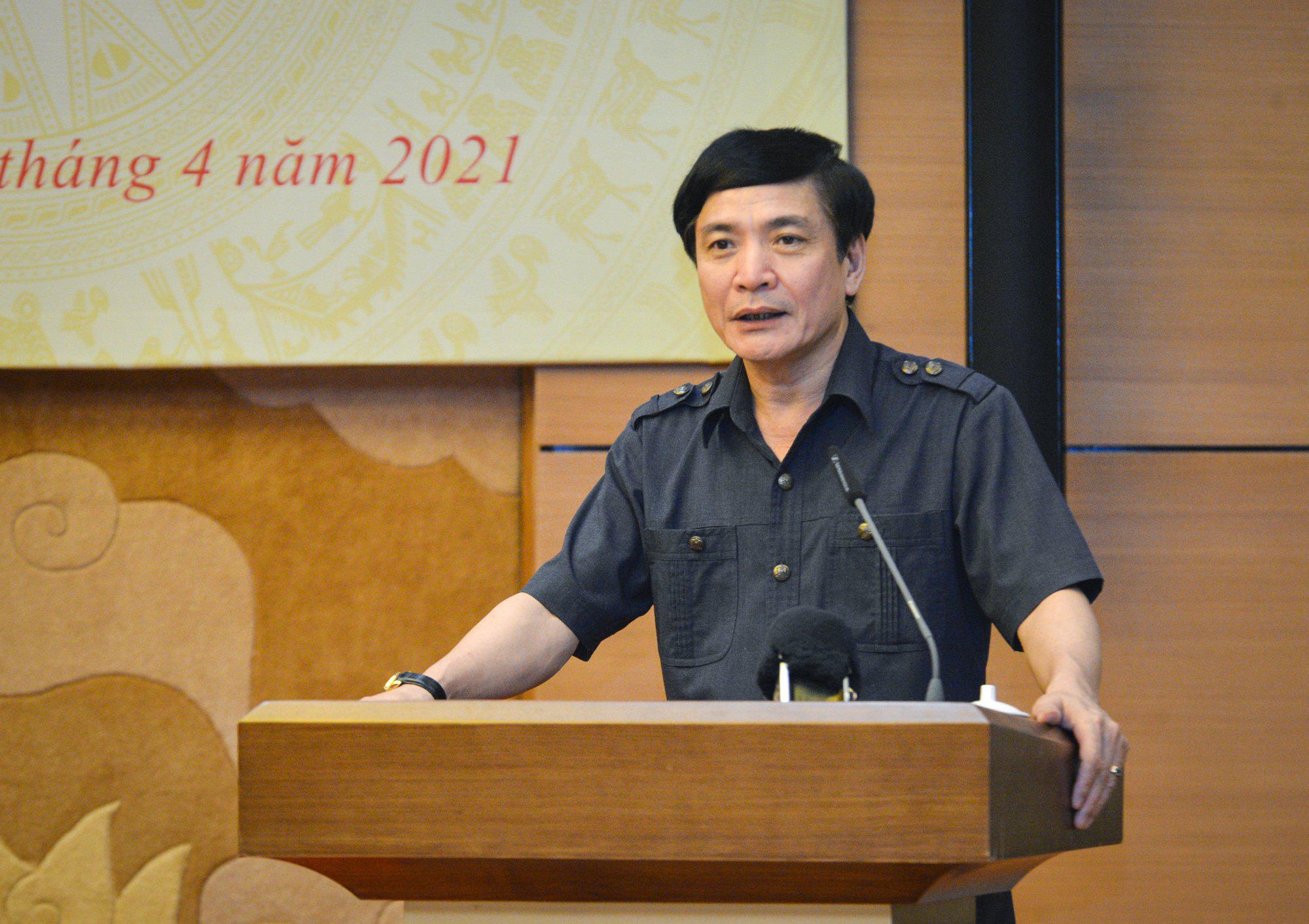 Ông Bùi Văn Cường được chỉ định chức vụ Đảng tại Văn phòng Quốc hội thay ông Trần Sỹ Thanh - Ảnh 1.