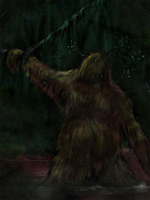 """Bí ẩn quái thú """"người lông"""" cai quản rừng xanh gây kinh hãi - Ảnh 1."""
