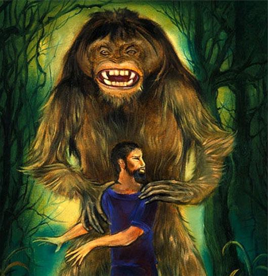 """Bí ẩn quái thú """"người lông"""" cai quản rừng xanh gây kinh hãi - Ảnh 3."""