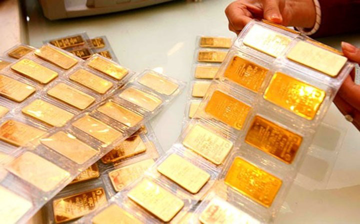 Giá vàng hôm nay 20/4: Tăng vọt, vàng trong nước vượt ngưỡng 56 triệu đồng/lượng - Ảnh 1.