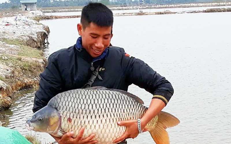"""Văn Đức rời Hải Phòng """"đầu quân"""" sang Quảng Ninh nuôi cá trắm đen khủng, thu 15-20 tỷ mỗi năm"""