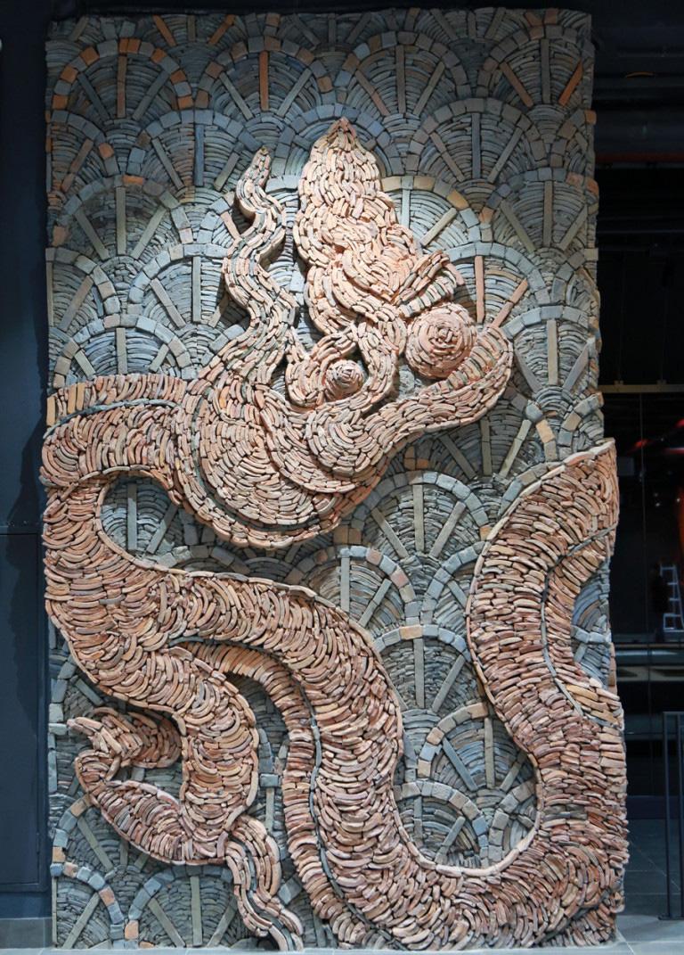 """Phát hiện """"chấn động"""" về cung điện thời Lý: Sự thật về loại ngói lá đề độc nhất châu Á - Ảnh 3."""