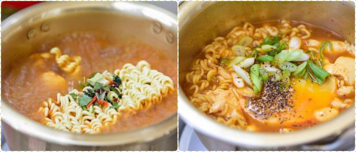 """Mì tôm nấu chuẩn vị Hàn Quốc, thơm ngon """"nuốt lưỡi"""" - Ảnh 3."""