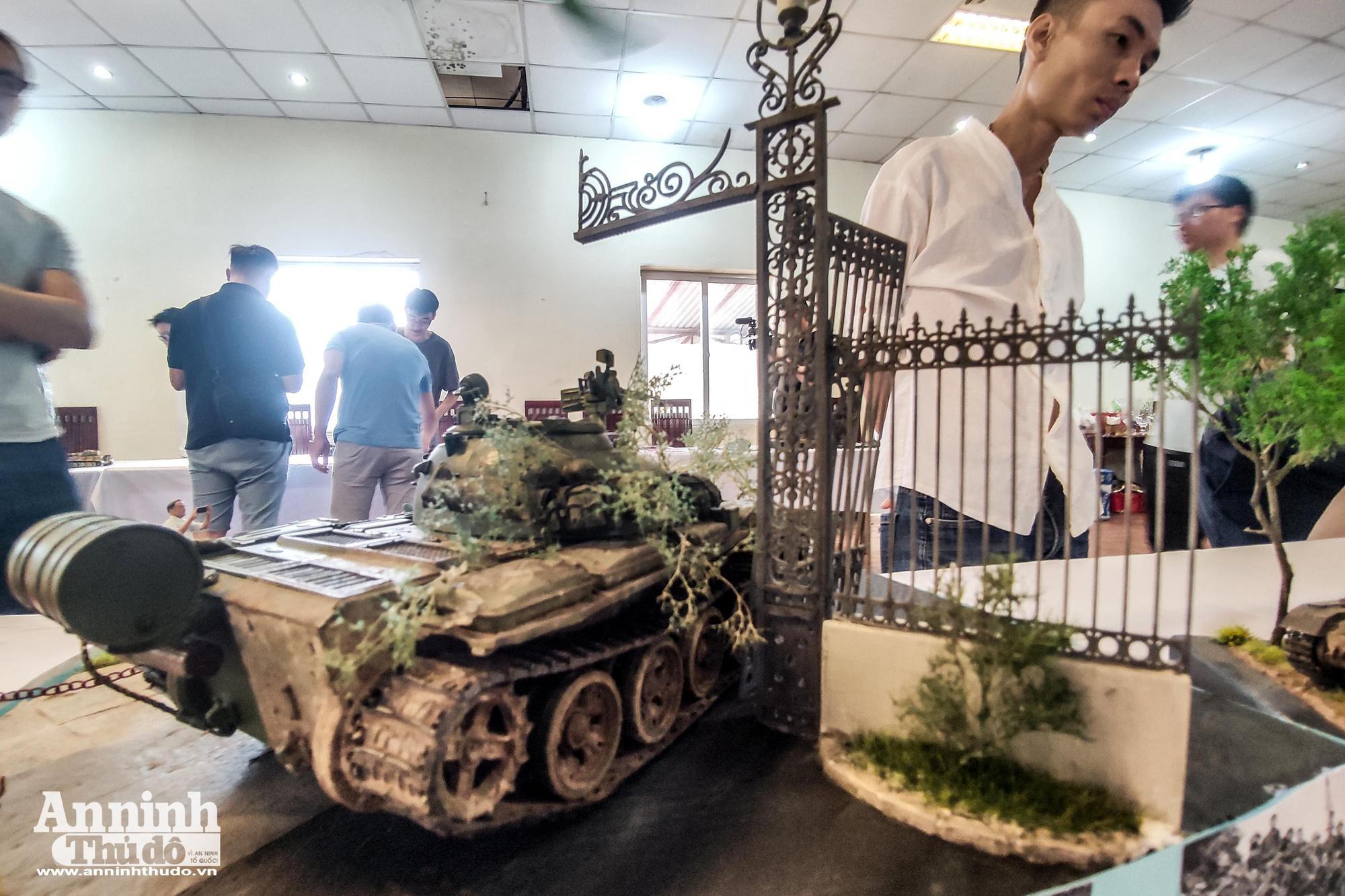 Những khí tài quân sự được tái hiện lại, mang theo bao ký ức hào hùng ở Hà Nội - Ảnh 4.
