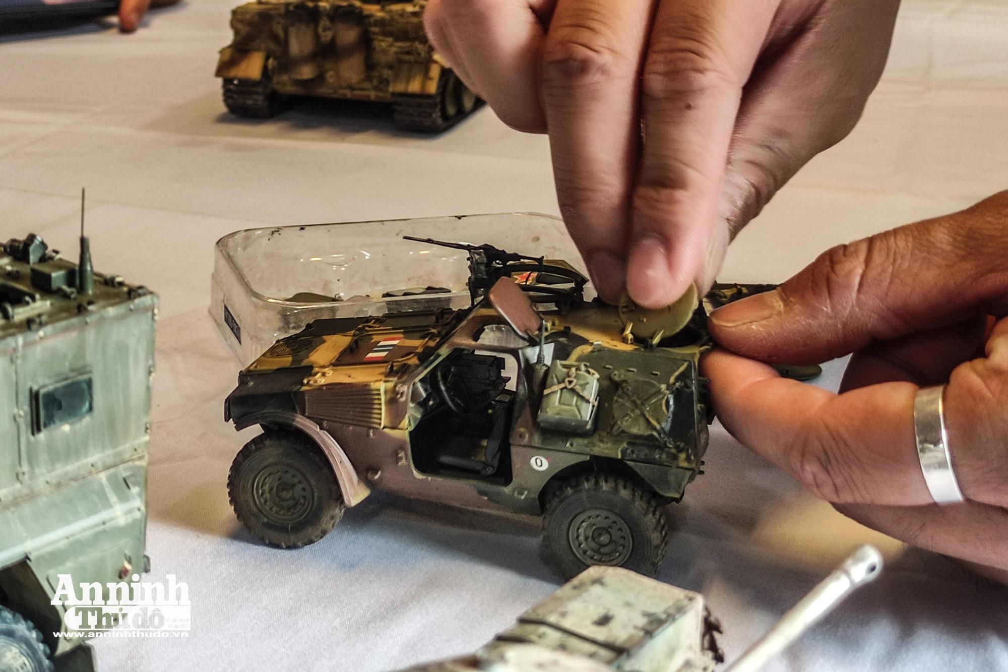 Những khí tài quân sự được tái hiện lại, mang theo bao ký ức hào hùng ở Hà Nội - Ảnh 20.