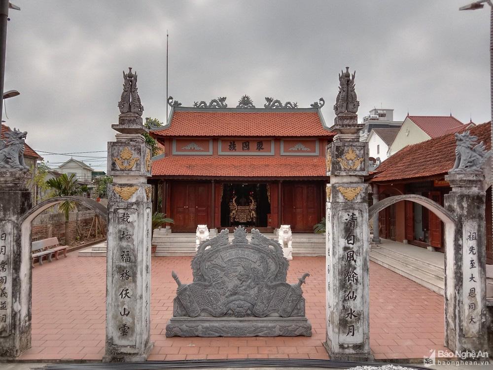 Chuyện lạ kỳ ở Nghệ An: Một nhà thờ thờ chung 2 dòng họ? - Ảnh 1.