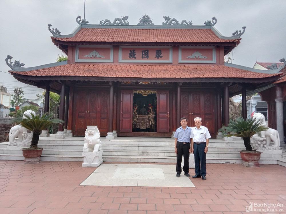 Chuyện lạ kỳ ở Nghệ An: Một nhà thờ thờ chung 2 dòng họ? - Ảnh 5.