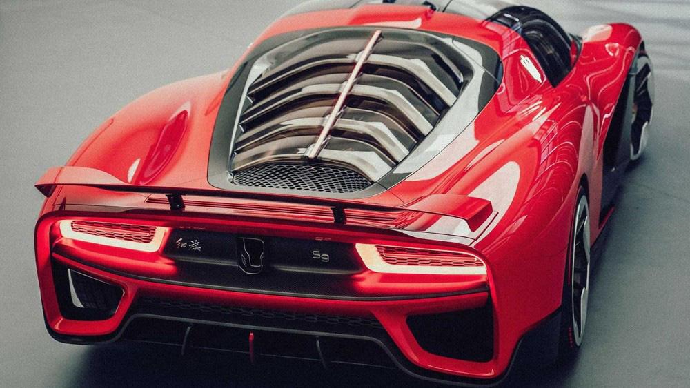 Siêu xe Trung Quốc Hồng Kỳ S9 lộ diện choáng ngợp, sang chảnh, đẳng cấp châu Âu - Ảnh 5.