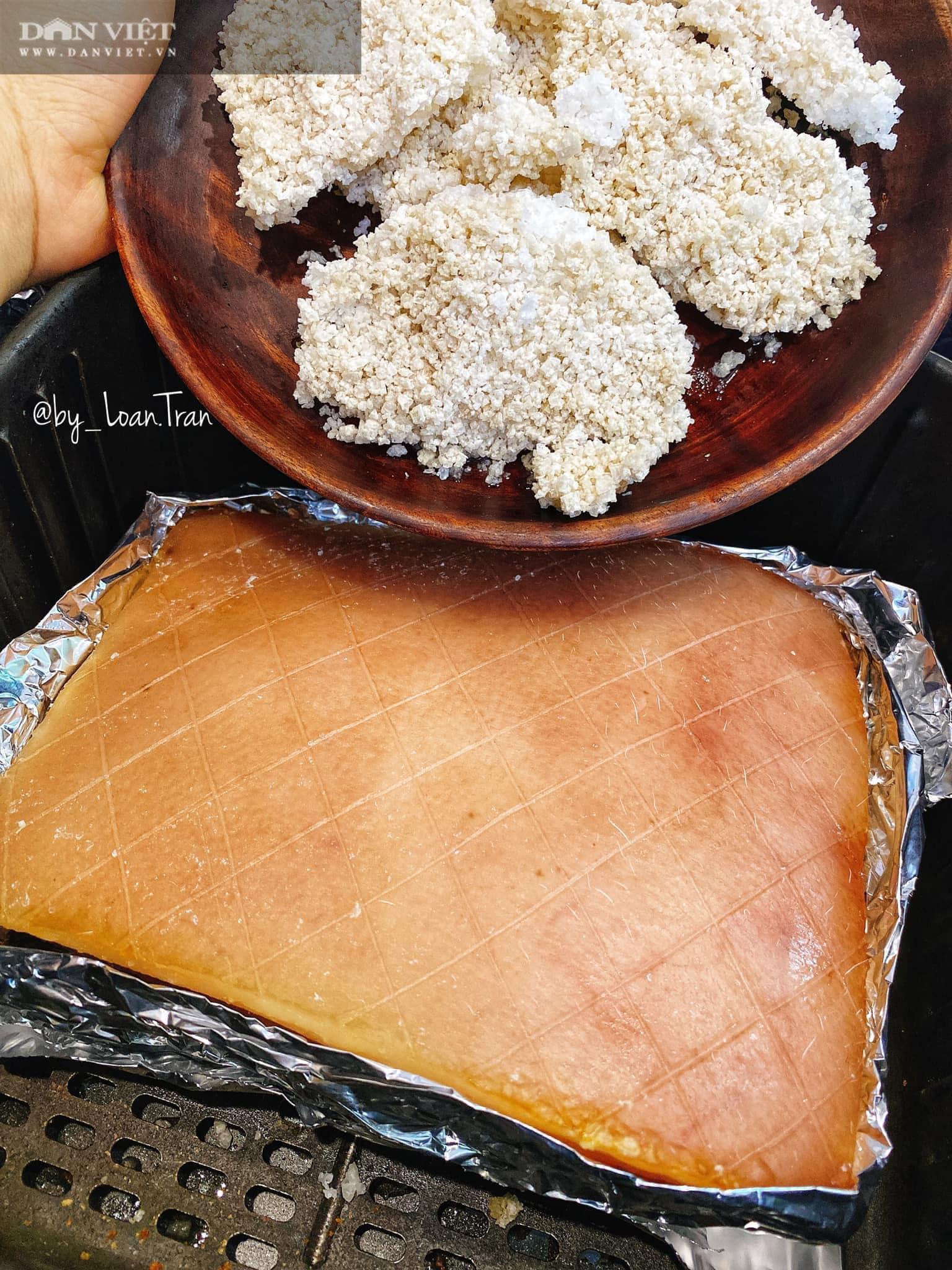 Chỉ cần làm điều này, đảm bảo thịt quay bằng nồi chiên không dầu ngon đúng chuẩn - Ảnh 6.
