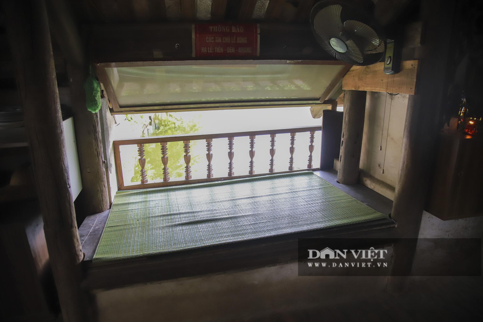 Cận cảnh cây cầu có hình dáng thuyền nan úp ngược độc nhất vô nhị ở Hà Nội - Ảnh 8.