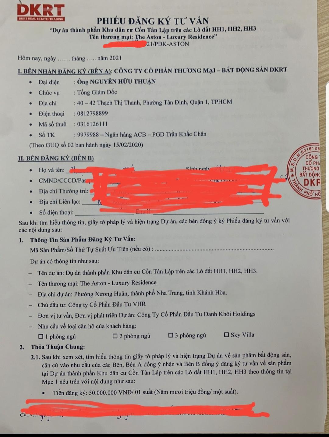 Khánh Hòa: Dự án The Aston Luxury Residence - Nha Trang lách luật để huy động vốn và rao bán rầm rộ - Ảnh 3.