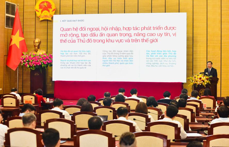 """Chủ tịch Hà Nội: """"Để mất an ninh chính trị, trật tự an toàn là không có cơ hội sửa chữa"""" - Ảnh 4."""