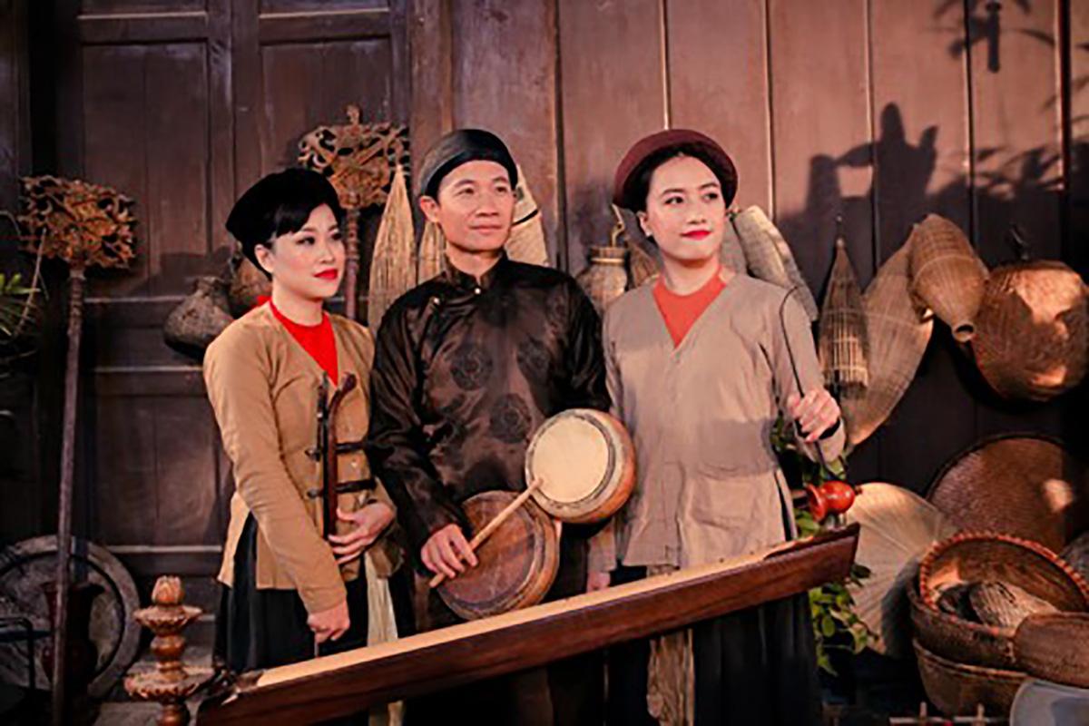"""Nghệ sĩ Mai Tuyết Hoa: """"Hộ chiếu vacxin sẽ mở ra cơ hội để đưa xẩm Việt Nam ra ngoài thế giới"""" - Ảnh 2."""