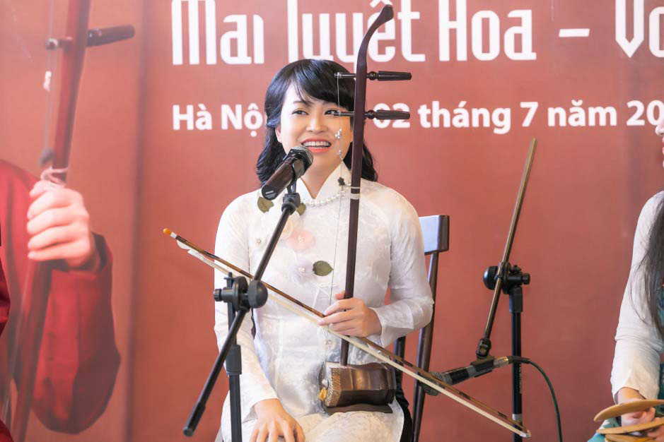 """Nghệ sĩ Mai Tuyết Hoa: """"Hộ chiếu vacxin sẽ mở ra cơ hội để đưa xẩm Việt Nam ra ngoài thế giới"""" - Ảnh 3."""
