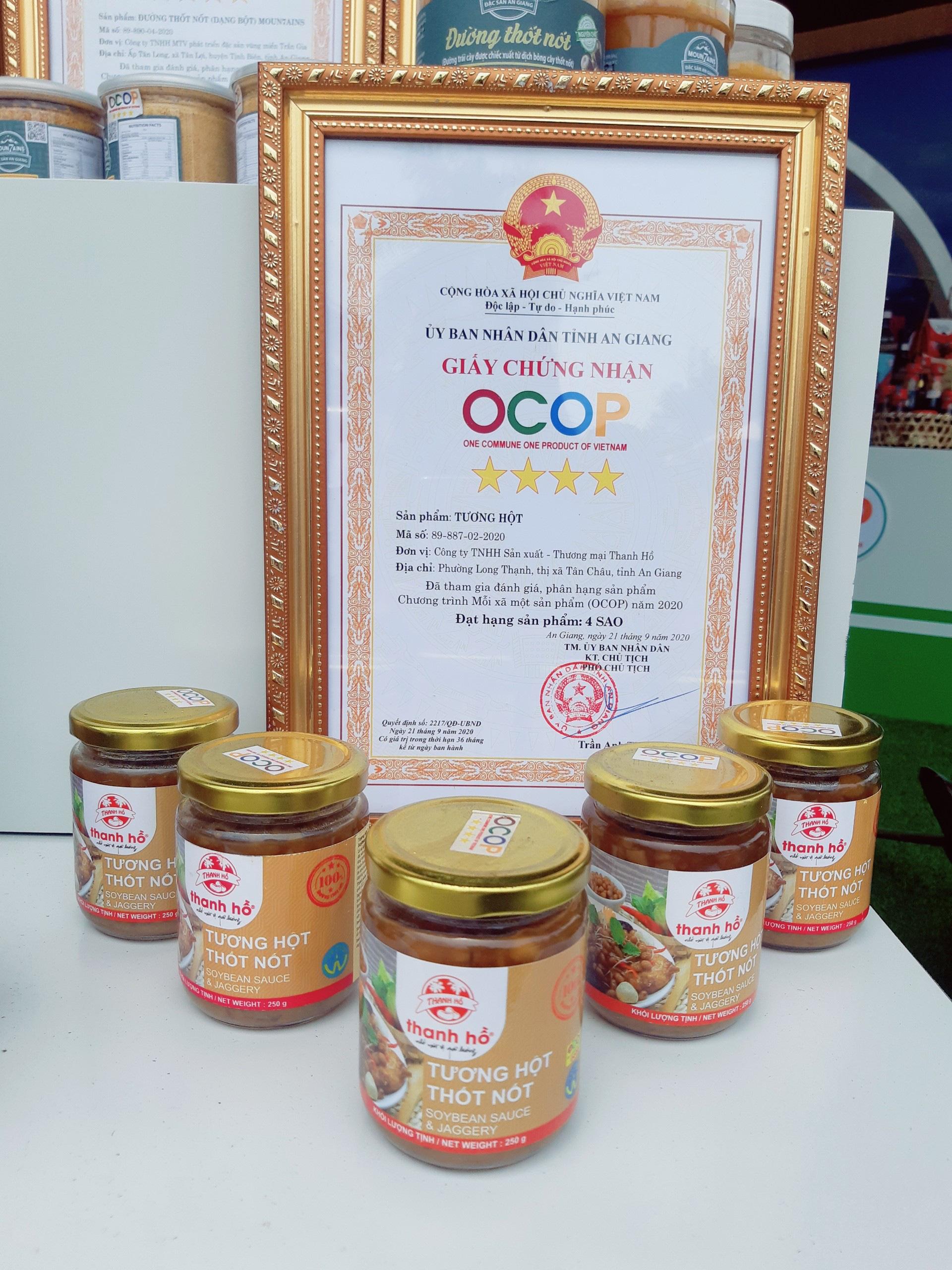 Sản phẩm OCOP 24 tỉnh, thành hội tụ tại Châu Đốc An Giang - Ảnh 11.