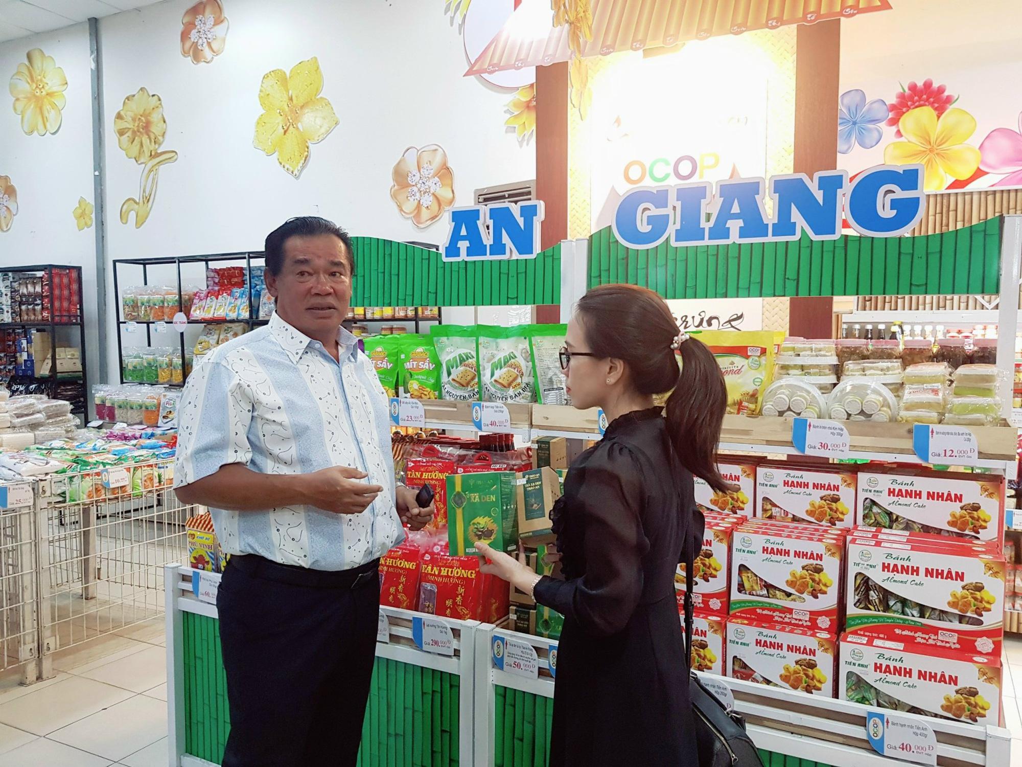 Sản phẩm OCOP 24 tỉnh, thành hội tụ tại Châu Đốc An Giang - Ảnh 2.