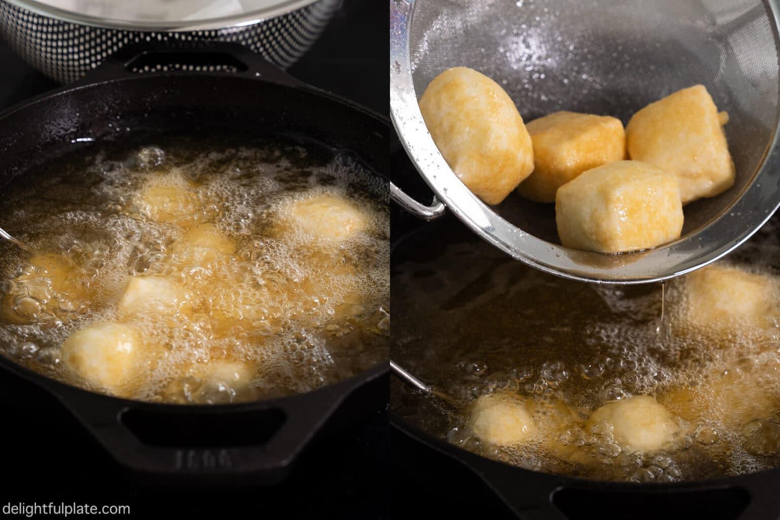 Làm đậu sốt trứng muối nhất định phải nhớ bí quyết này - Ảnh 6.