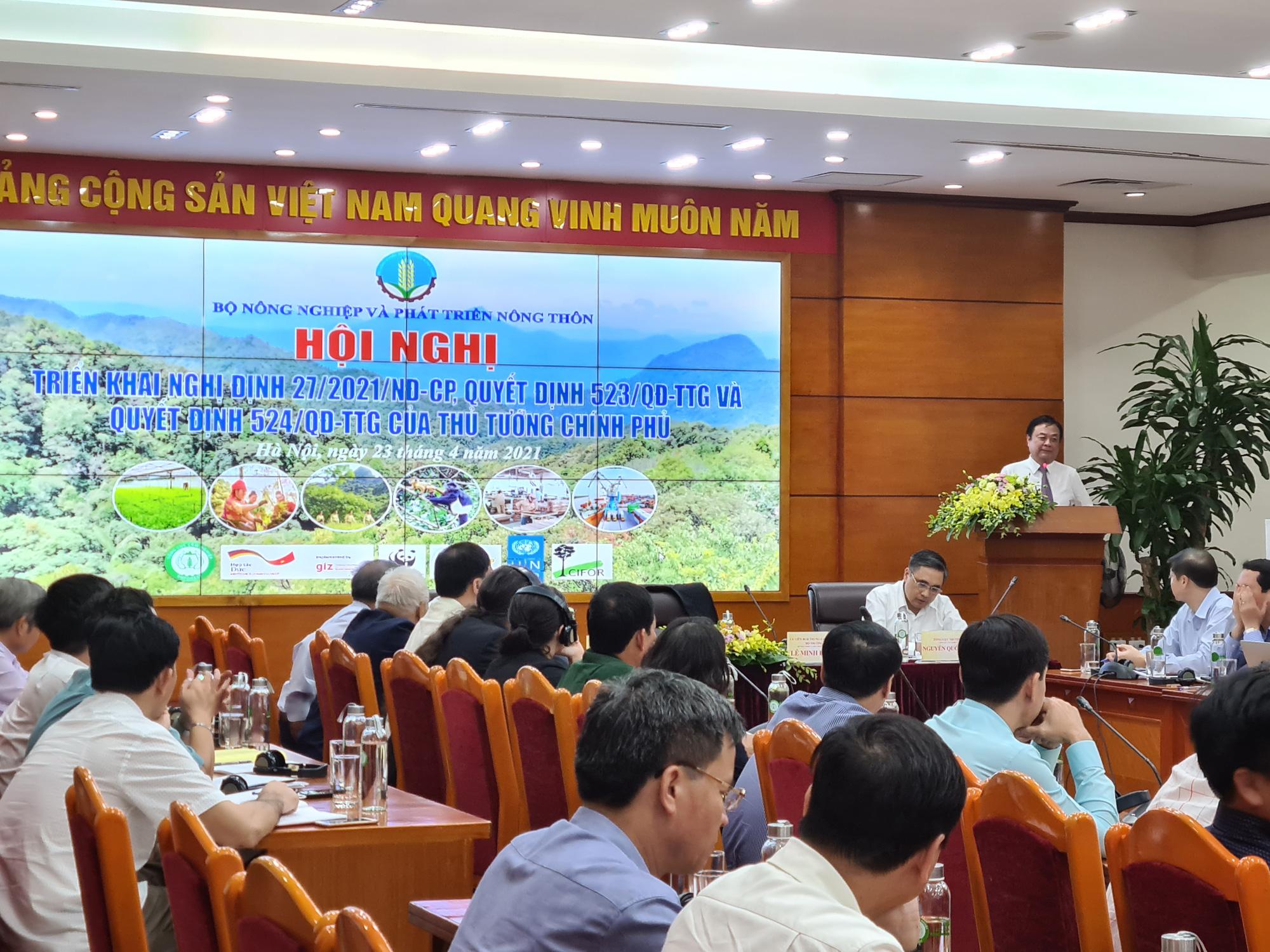 Bộ trưởng Bộ NNPTNT Lê Minh Hoan: Truyền thông để thế hệ trẻ yêu rừng như máu thịt - Ảnh 1.