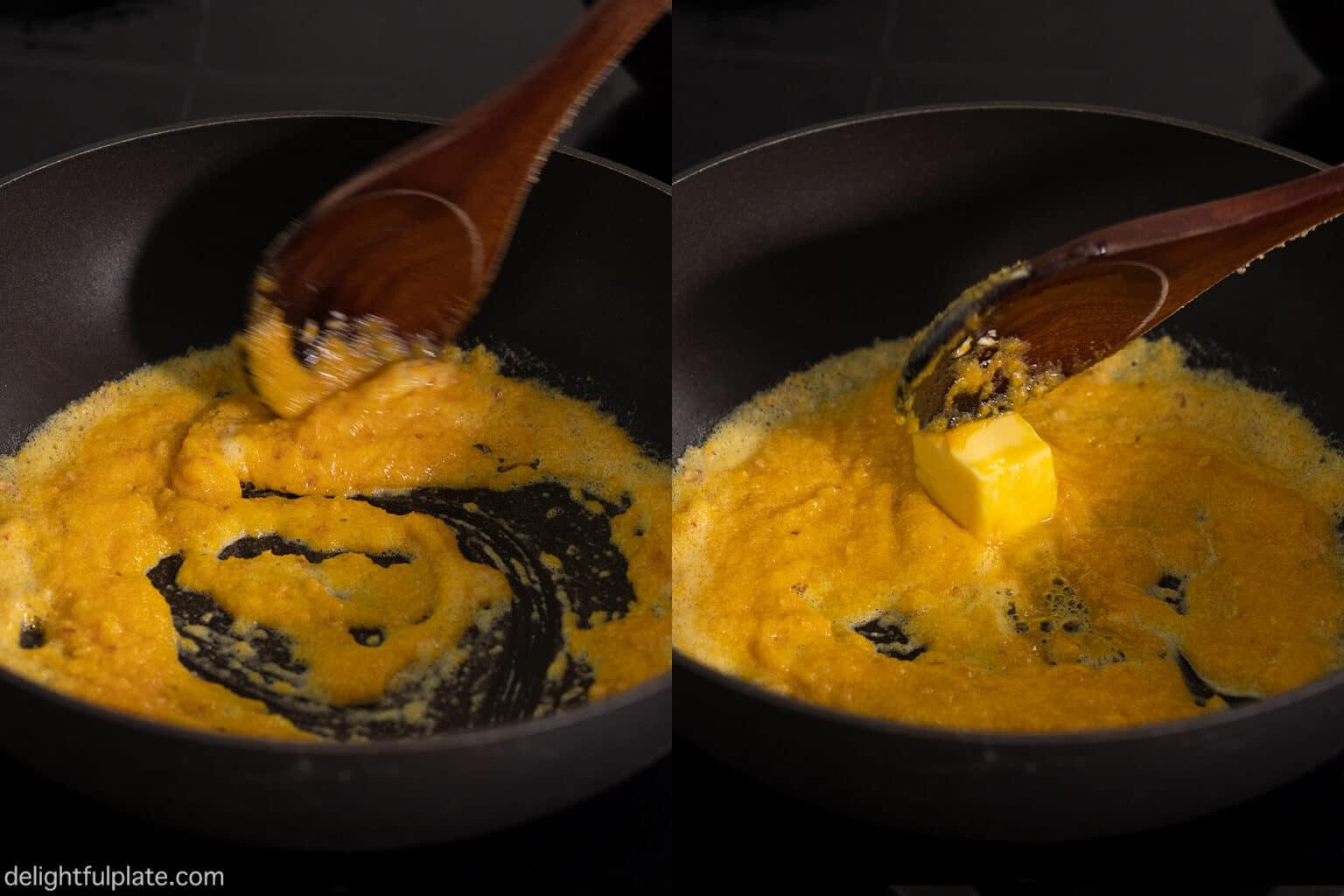 Làm đậu sốt trứng muối nhất định phải nhớ bí quyết này - Ảnh 7.