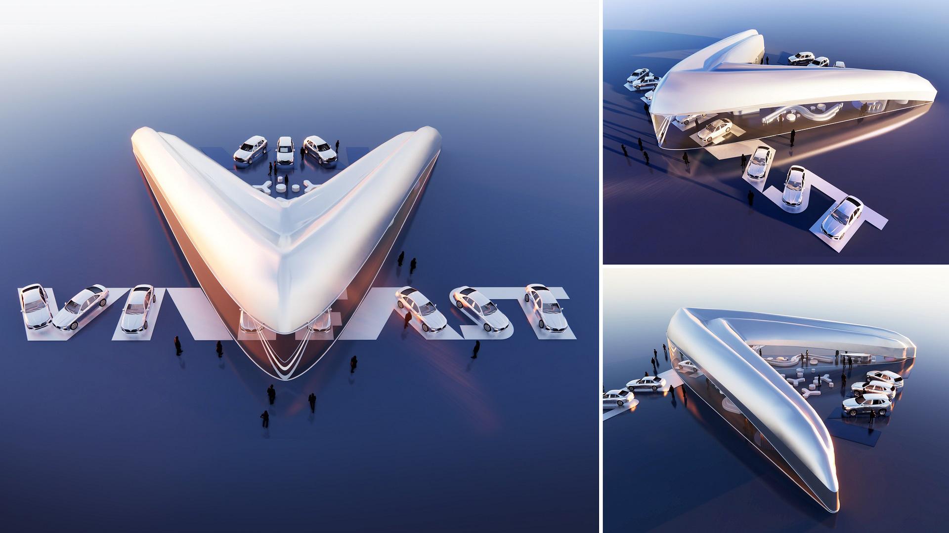 Công bố kết quả cuộc thi thiết kế Showroom VinFast toàn cầu 2021 - Ảnh 1.