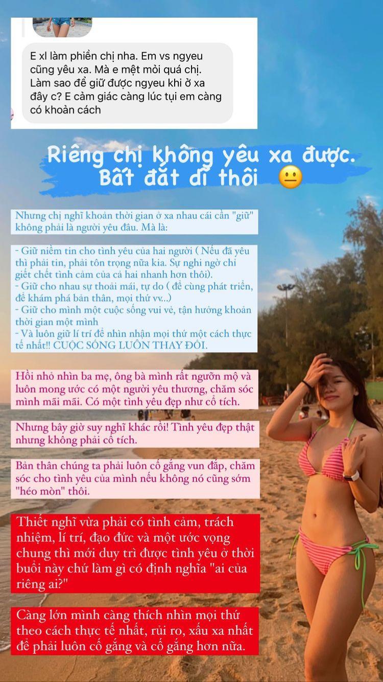 Lại phải yêu xa, bạn gái Đặng Văn Lâm than thở điều đắng lòng - Ảnh 2.