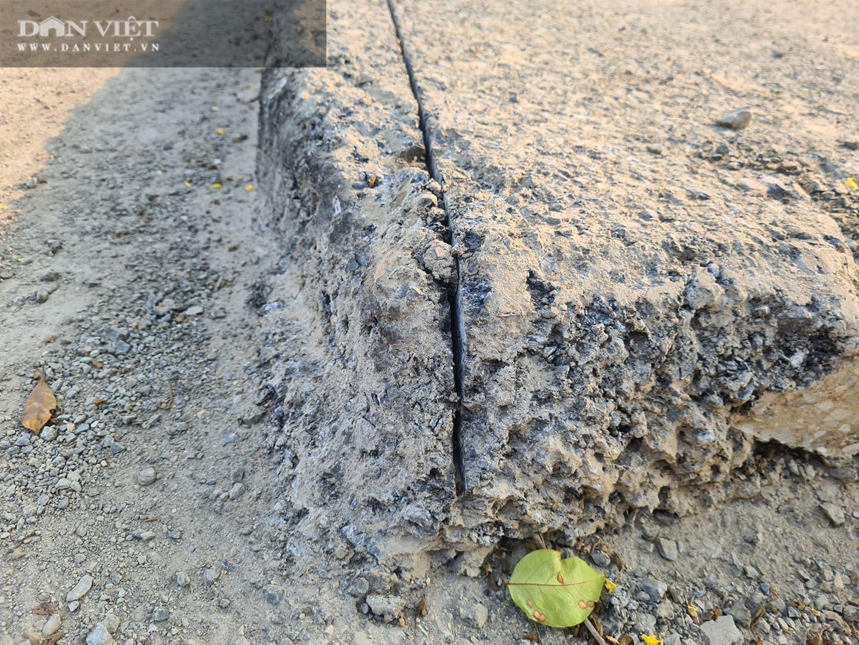 Mặt đường dự án BT 'đại lộ nghìn tỉ' Chu Văn An bị đào xới nham nhở - Ảnh 5.