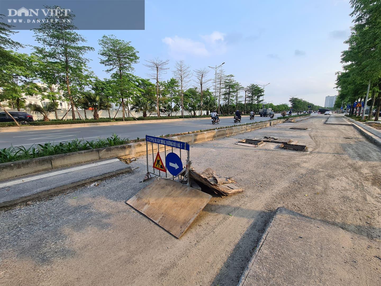 Mặt đường dự án BT 'đại lộ nghìn tỉ' Chu Văn An bị đào xới nham nhở - Ảnh 9.