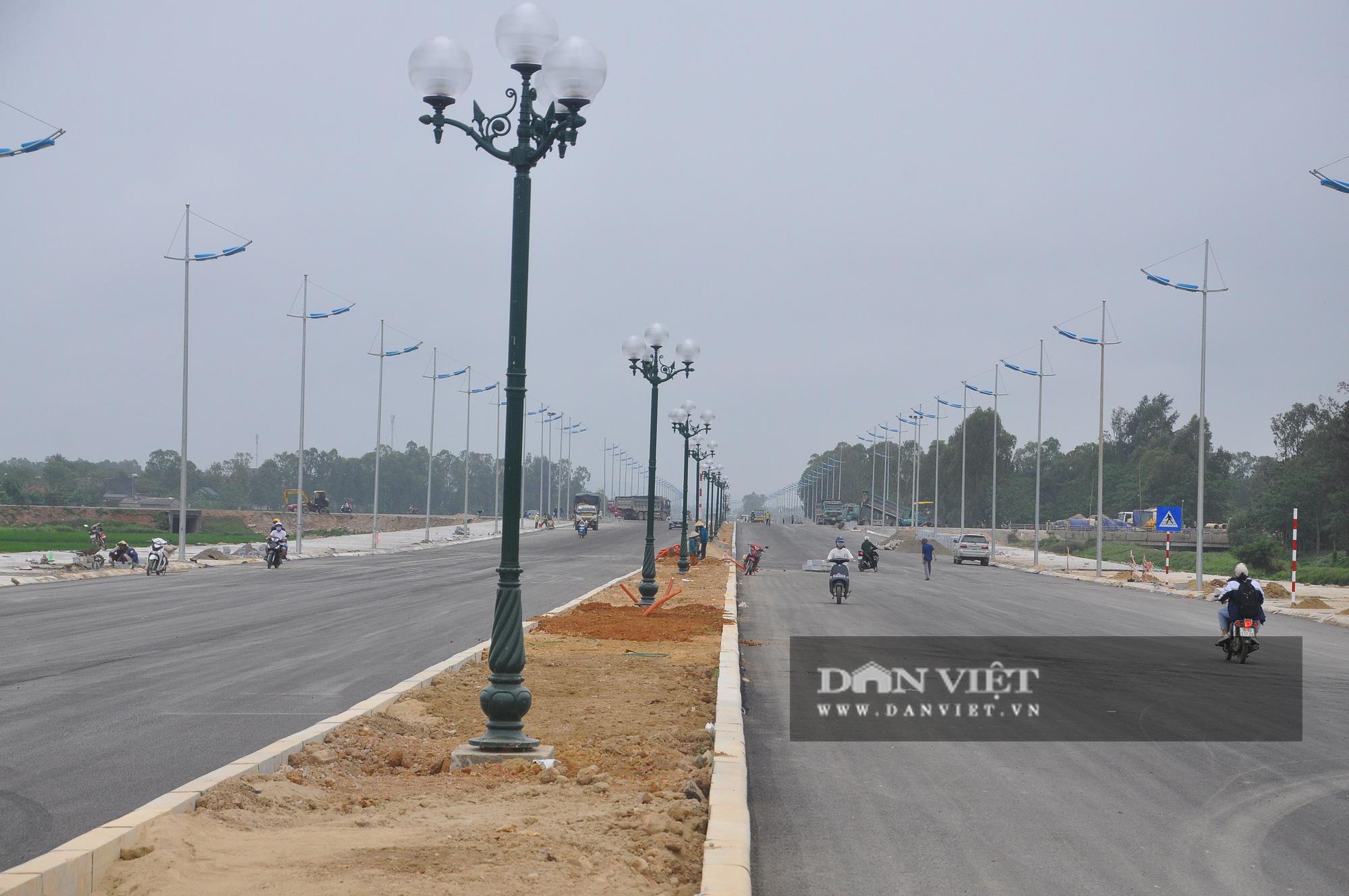 Cận cảnh dự án đường ven biển Nghi Sơn - Sầm Sơn có tổng mức đầu tư hơn 1.479 tỷ đồng trước ngày thông tuyến - Ảnh 3.