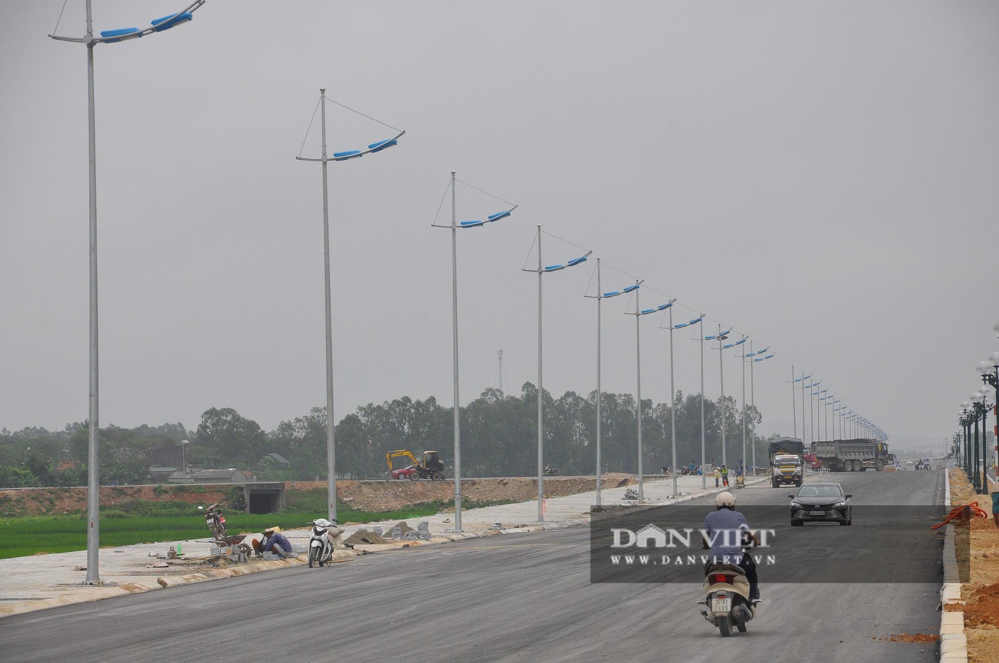 Cận cảnh dự án đường ven biển Nghi Sơn - Sầm Sơn có tổng mức đầu tư hơn 1.479 tỷ đồng trước ngày thông tuyến - Ảnh 4.
