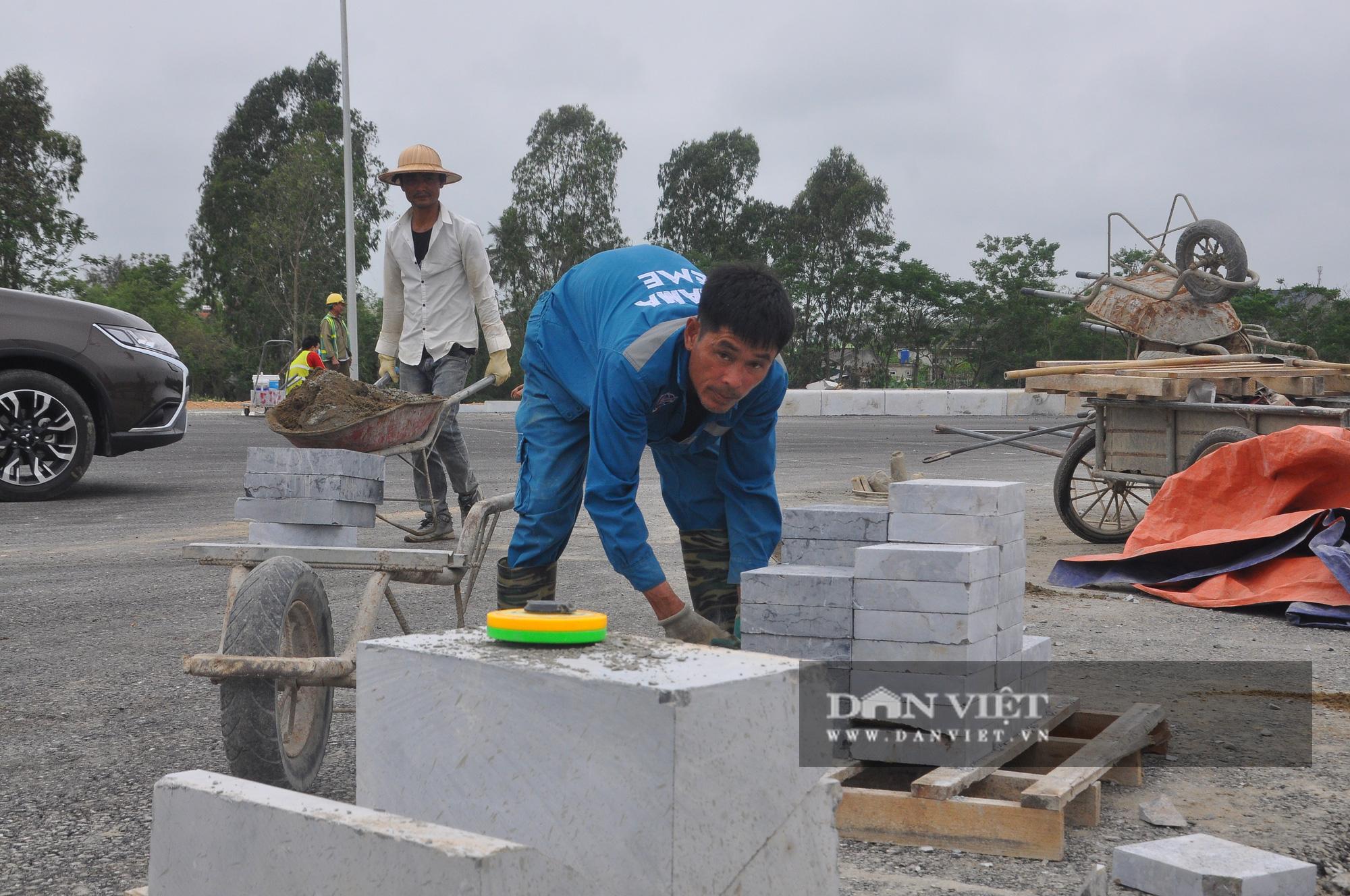 Cận cảnh dự án đường ven biển Nghi Sơn - Sầm Sơn có tổng mức đầu tư hơn 1.479 tỷ đồng trước ngày thông tuyến - Ảnh 5.