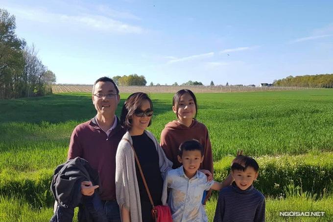Quỳnh Giao rút khỏi showbiz, hạnh phúc bên chồng con ở Pháp - Ảnh 4.