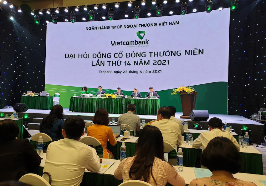 """Quý I lãi 8.000 tỷ, Vietcombank đặt mục tiêu """"thận trọng dù có dư địa rất tích cực"""" - Ảnh 1."""