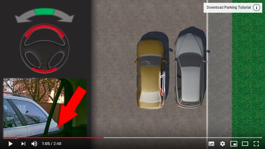 """Lùi xe vào """"chuồng"""", tưởng dễ mà khó đặc biệt với tài xế nữ - Ảnh 1."""