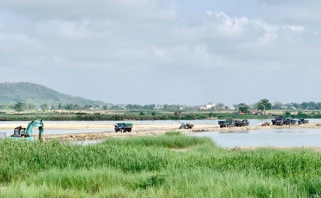 Giá cát đột ngột tăng gấp đôi ở Quảng Ngãi: Chủ mỏ công khai giá bán tại mỏ  - Ảnh 6.