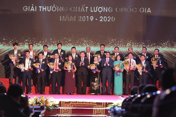 Trao tặng 116 doanh nghiệp nhận Giải thưởng Chất lượng Quốc gia - Ảnh 4.