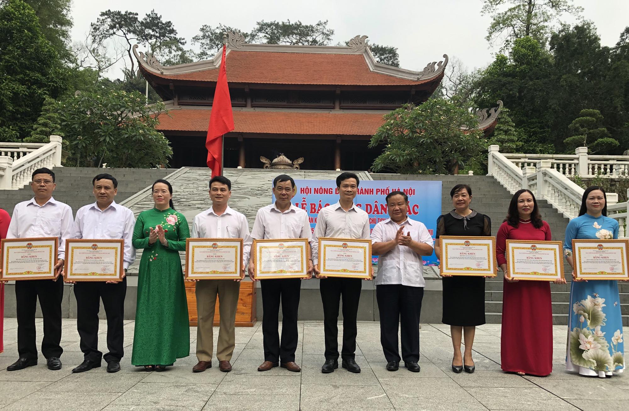 Hơn 1,5 triệu nông dân thi đua sản xuất kinh doanh giỏi, Hà Nội báo công dâng Bác - Ảnh 1.