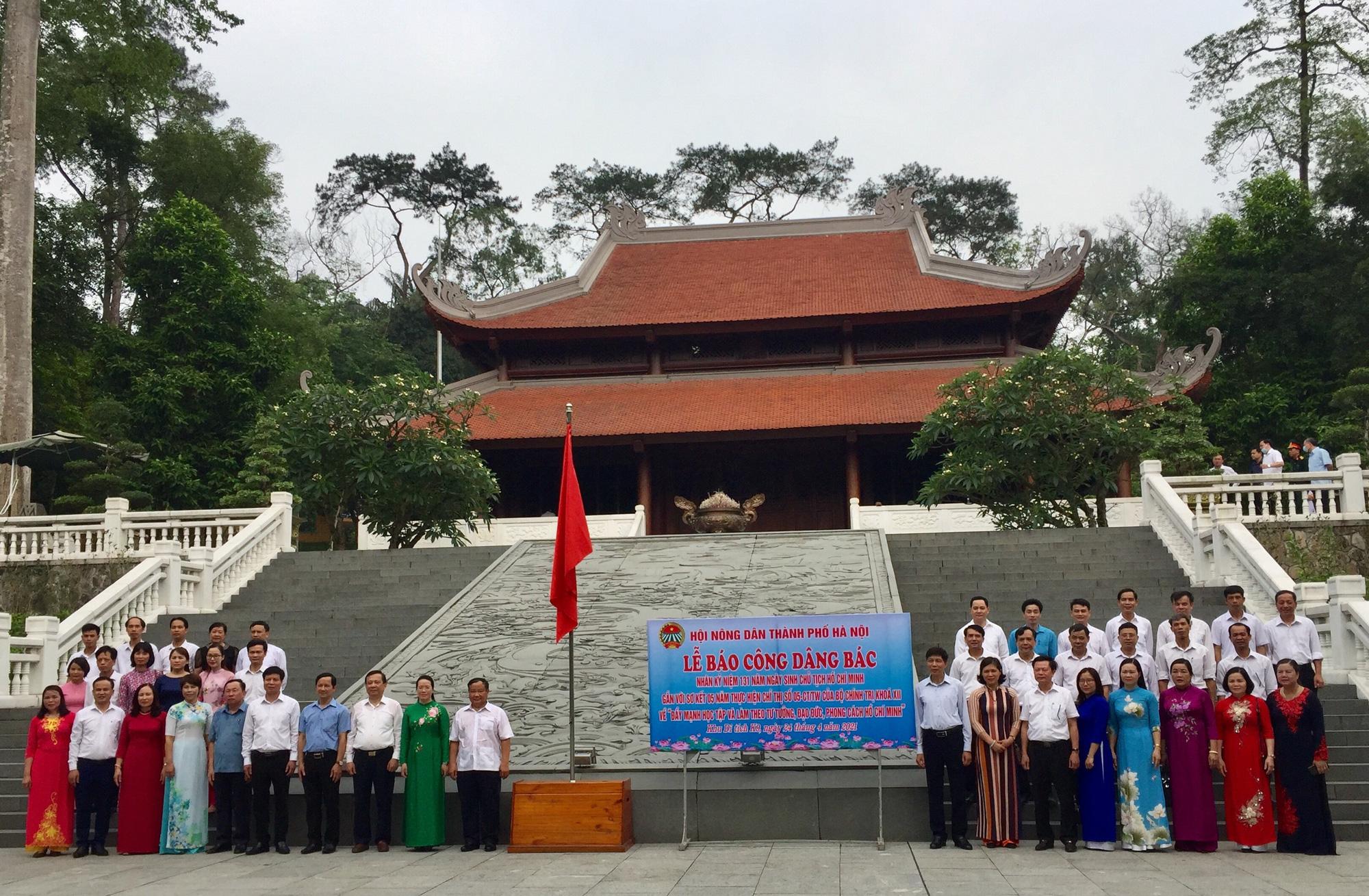 Hơn 1,5 triệu nông dân thi đua sản xuất kinh doanh giỏi, Hà Nội báo công dâng Bác - Ảnh 3.